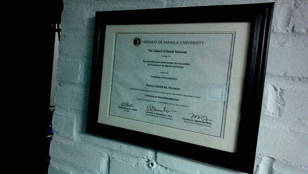 Diploma in PJ